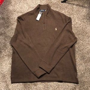 NWT Polo Ralph Lauren Half Zip Sweater